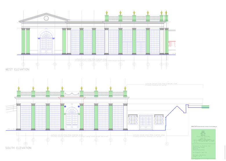rushton hall plans