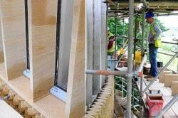 rippon college limestone construction