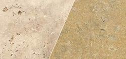 travertine vs limestone