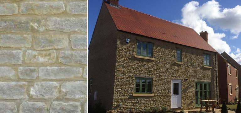 Northamptonshire Cropped Grey Walling