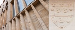 Jesus college west court stamford stone detail 2