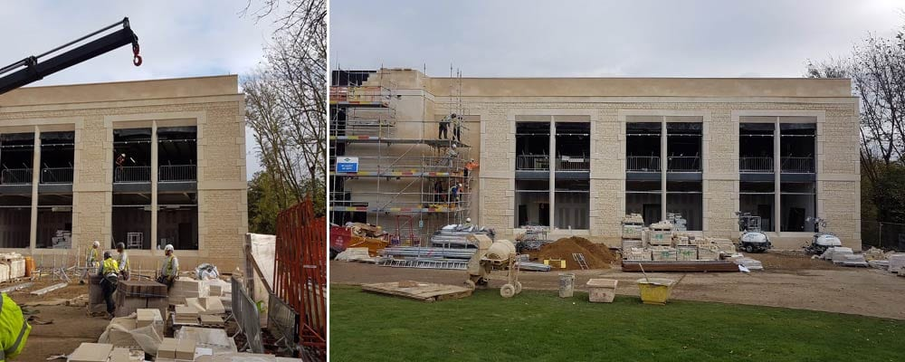 alltech house using stamford stone construction