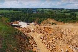 Clipsham quarry