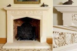 Bespoke Natural Stone Fireplaces