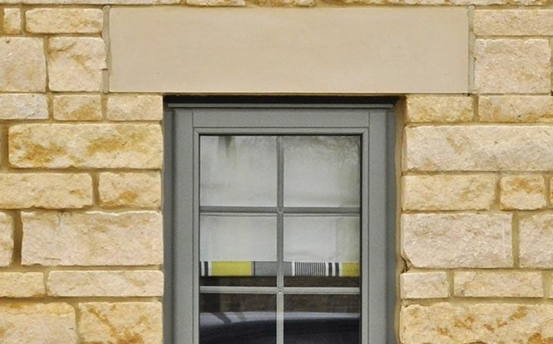linden homes development limestone detail