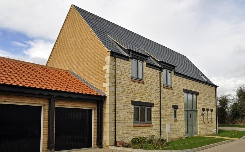 linden homes development exterior