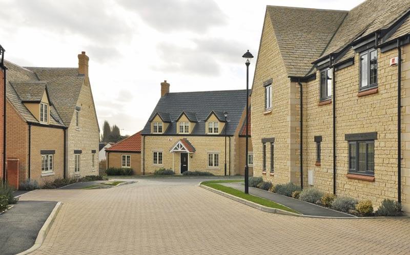 linden homes development exterior view