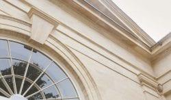rushton hall limestone detail