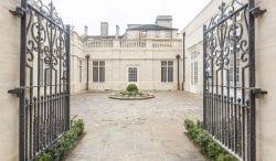 rushton hall limestone patio