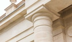 rushton hall stonework detail