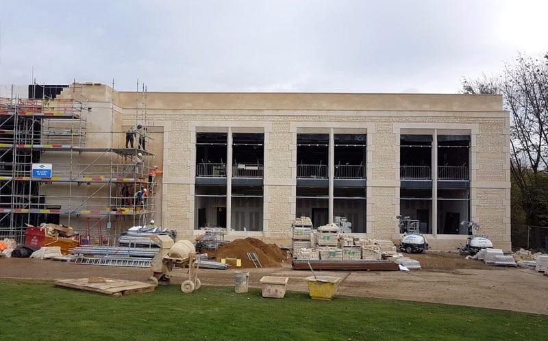 Alltech House construction limestone