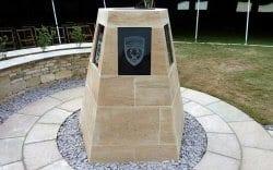 Barkston limestone memorial finished