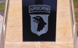 Barkston limestone memorial plaque