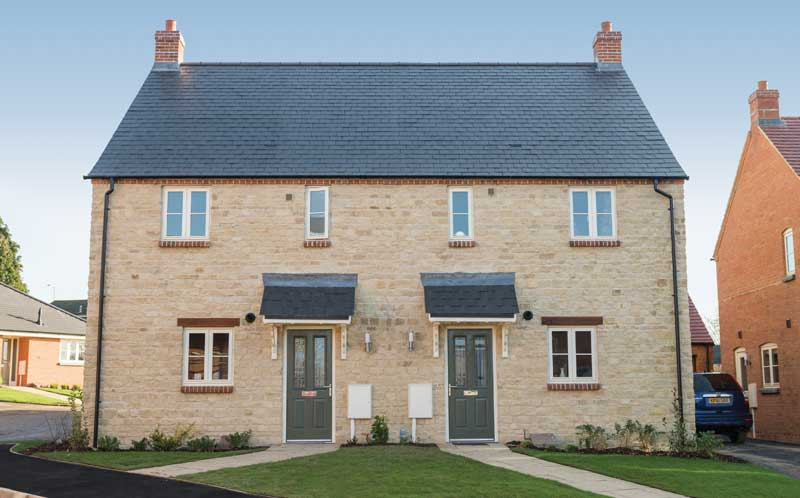 Francis Jackson Homes Rosewood North Luffenham exterior