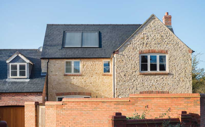 Francis Jackson Homes Rosewood North Luffenham rear