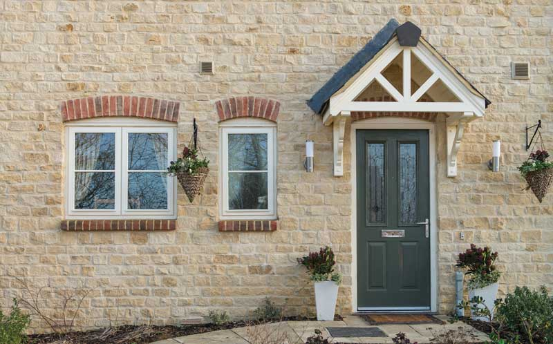 Francis Jackson Homes Rosewood North Luffenham stonework