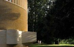Ripon college exterior detail