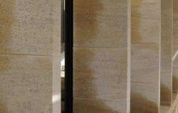 Ripon college limestone mullion