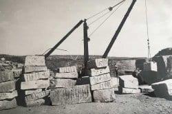 limestone clipsham medwell quarry 1927