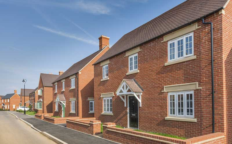 Taylor wimpey brackley outside