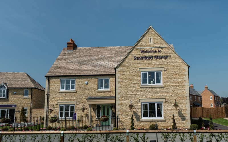 Taylor wimpey stamford manor front