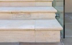 belvoir terrace stone steps