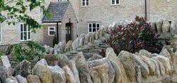 Walling stone, Stone walling, Stone wall coping, Limestone coping
