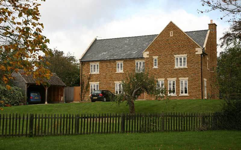 ironstone house garden