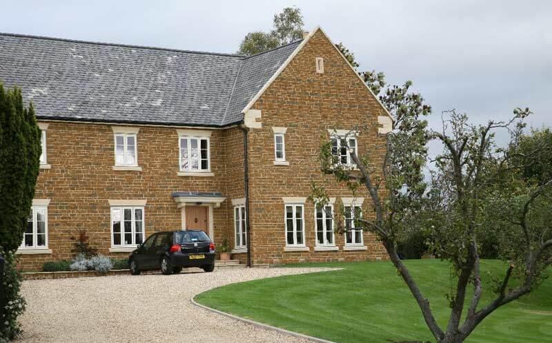 ironstone house driveway