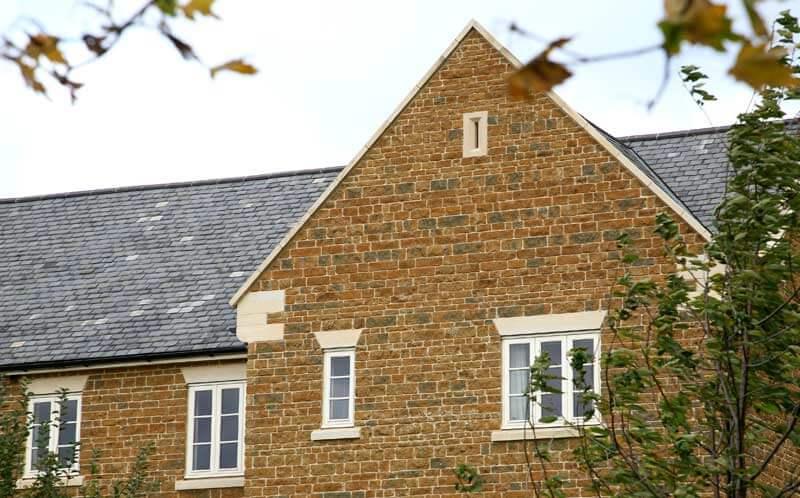 ironstone house detail