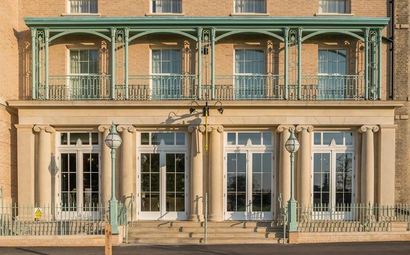 University Arms hotel limestone
