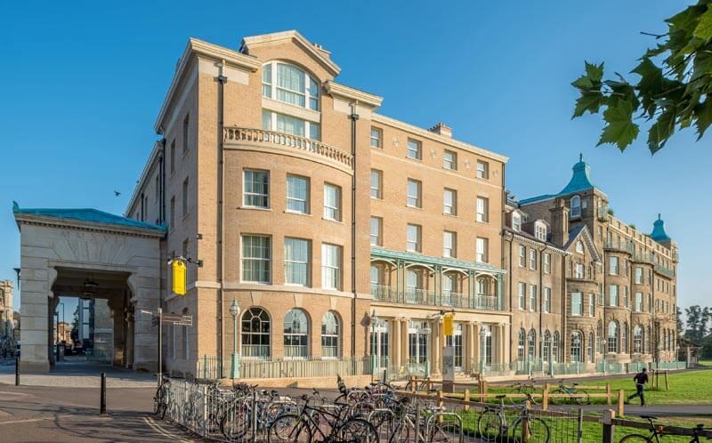 University Arms hotel side
