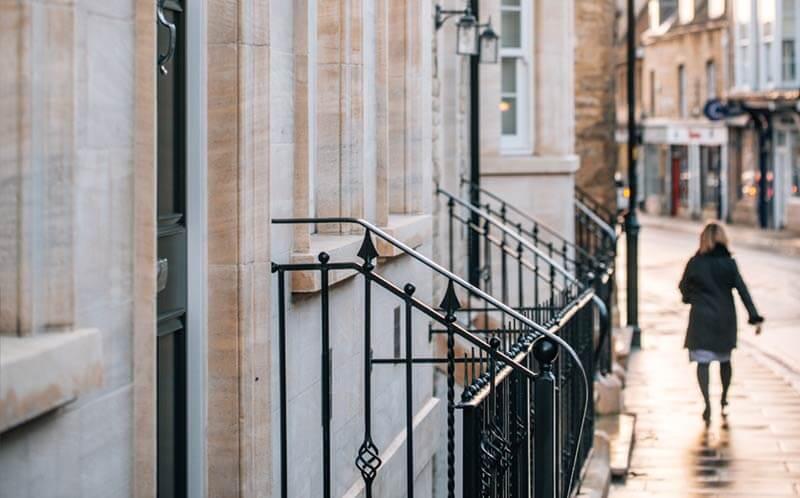 marshalls yard-stamford stone exterior columns
